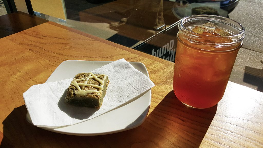 Coffee Cherry Iced Tea at Bump n Grind | tryhiddengems.com