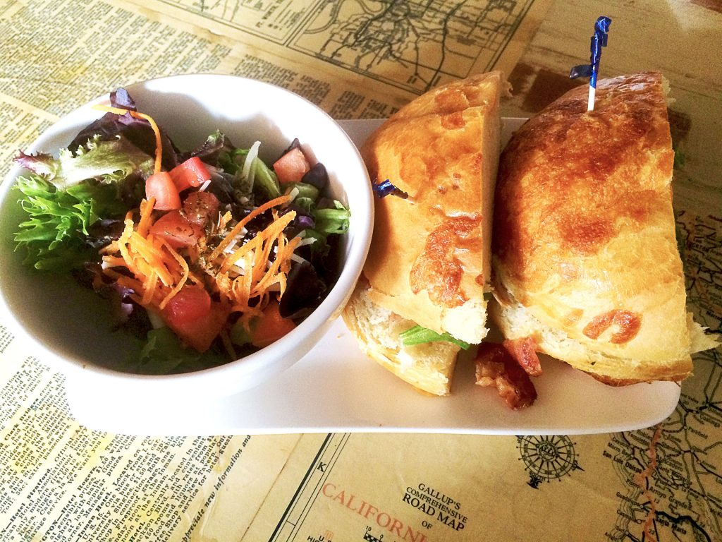 BLT at Lost and Found Cafe | tryhiddengems.com