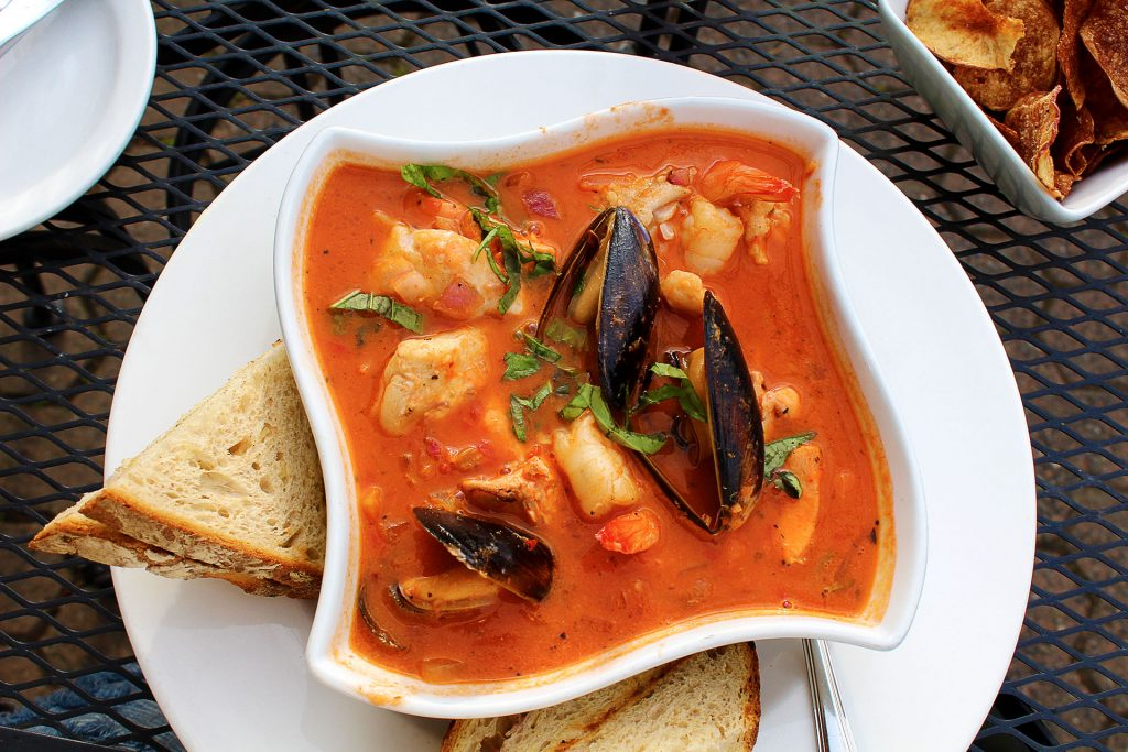 Seafood Cioppino at The Cabin | tryhiddengems.com