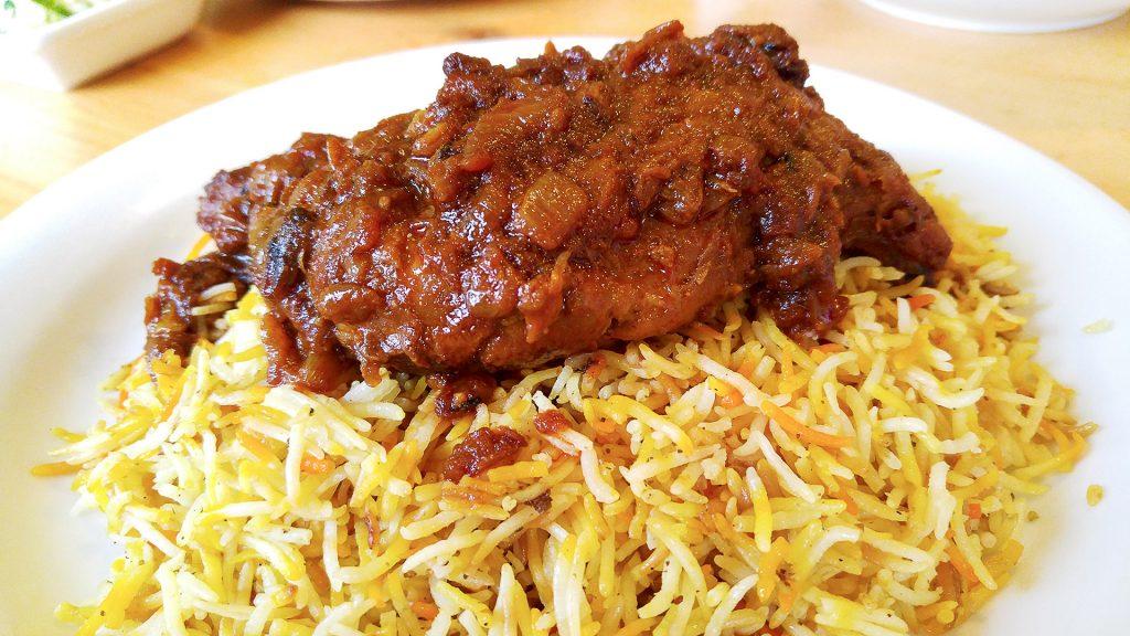 Burmese Chicken Biryani at Amay's House | tryiddengems.com