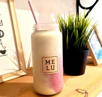 Berry Colada at Melu Juice Bar | tryhiddengems.com