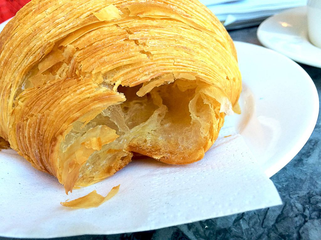 Croissant at Beaucoup Bakery | tryhiddengems.com