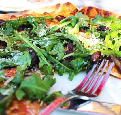 Mushroom Pizza at Big Ridge Brewing | tryhiddengems.com