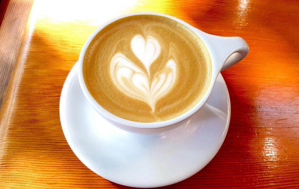 Vanilla Cappuccino at Off The Tracks   tryhiddengems.com