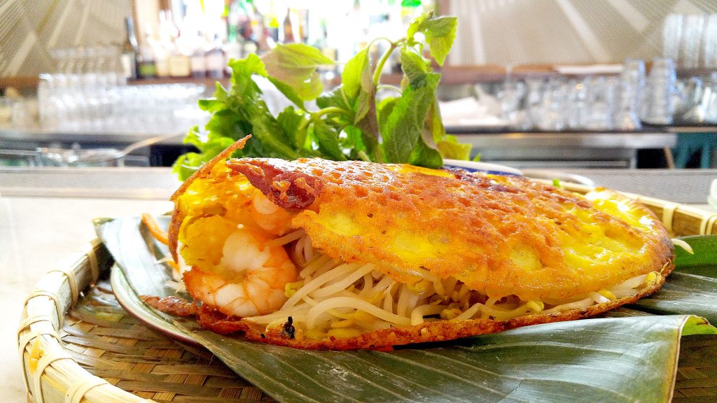 Vietnamese Crepe at Ang and Chi | tryhiddengems.com