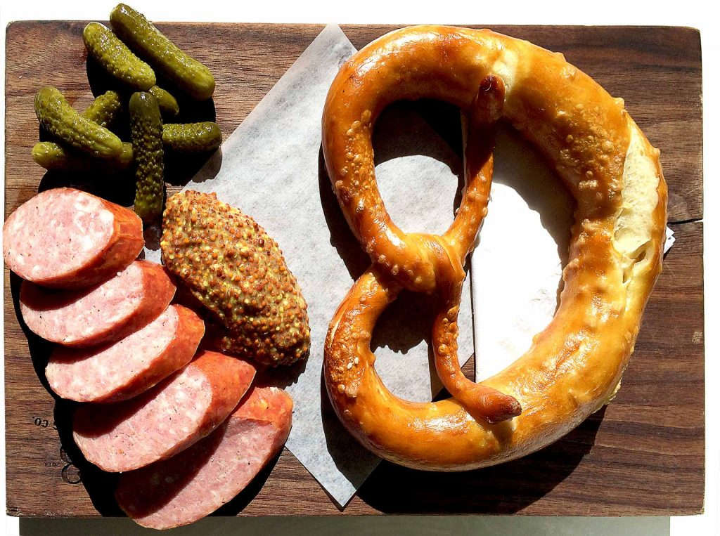 Pretzel Board at 33 Acres | tryhiddengems.com