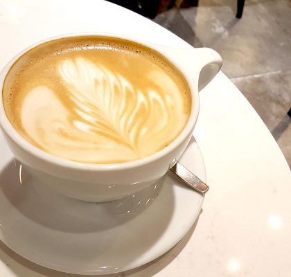 Americano Misto at Caffe W | tryhiddengems.com
