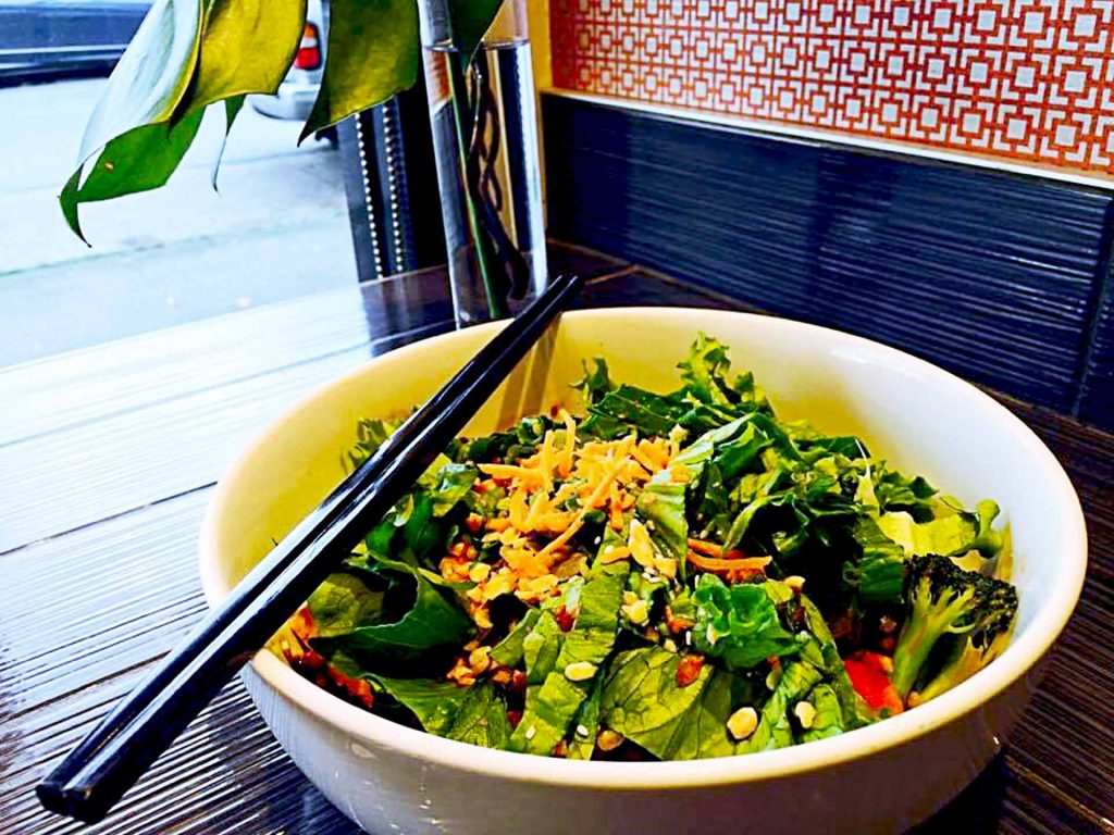 Midnight Swim Veggie Bowl at Chau Veggie Express | tryhiddengems.com