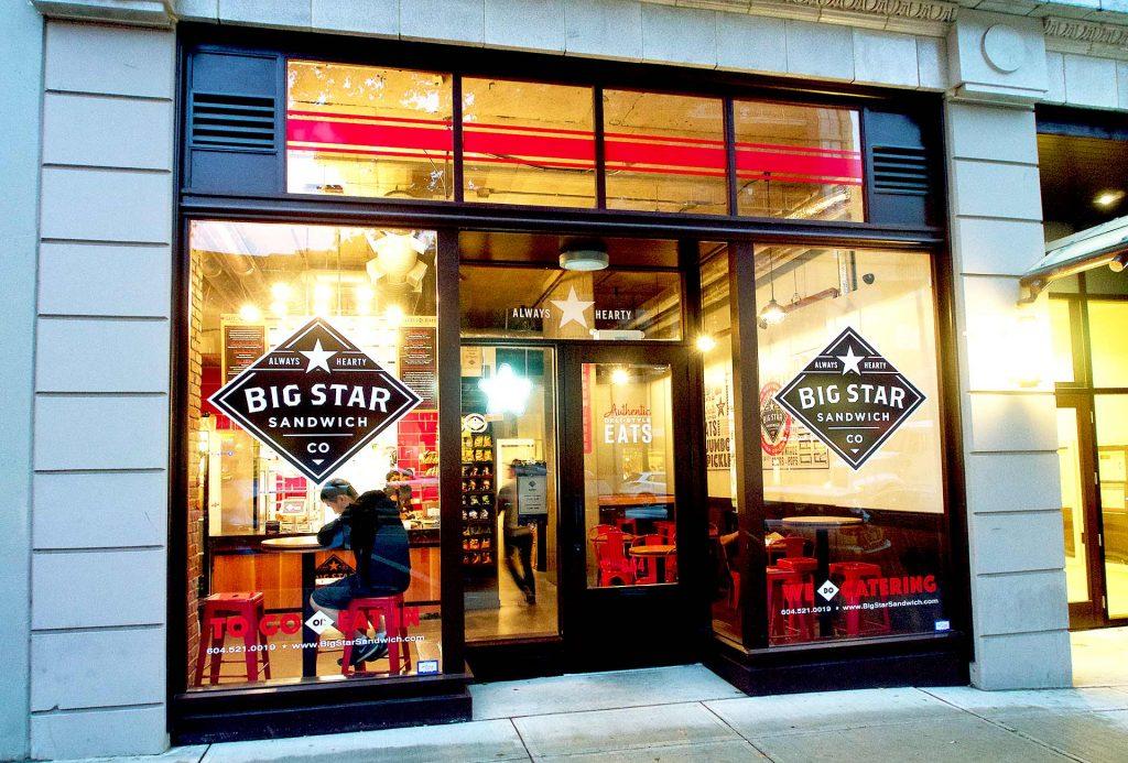 Big Star Sandwich Co - Sandwich Shop - New Westminster - Vancouver