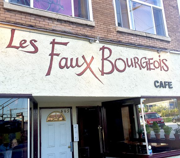 Les Faux Bourgeois - French Cafe - Vancouver