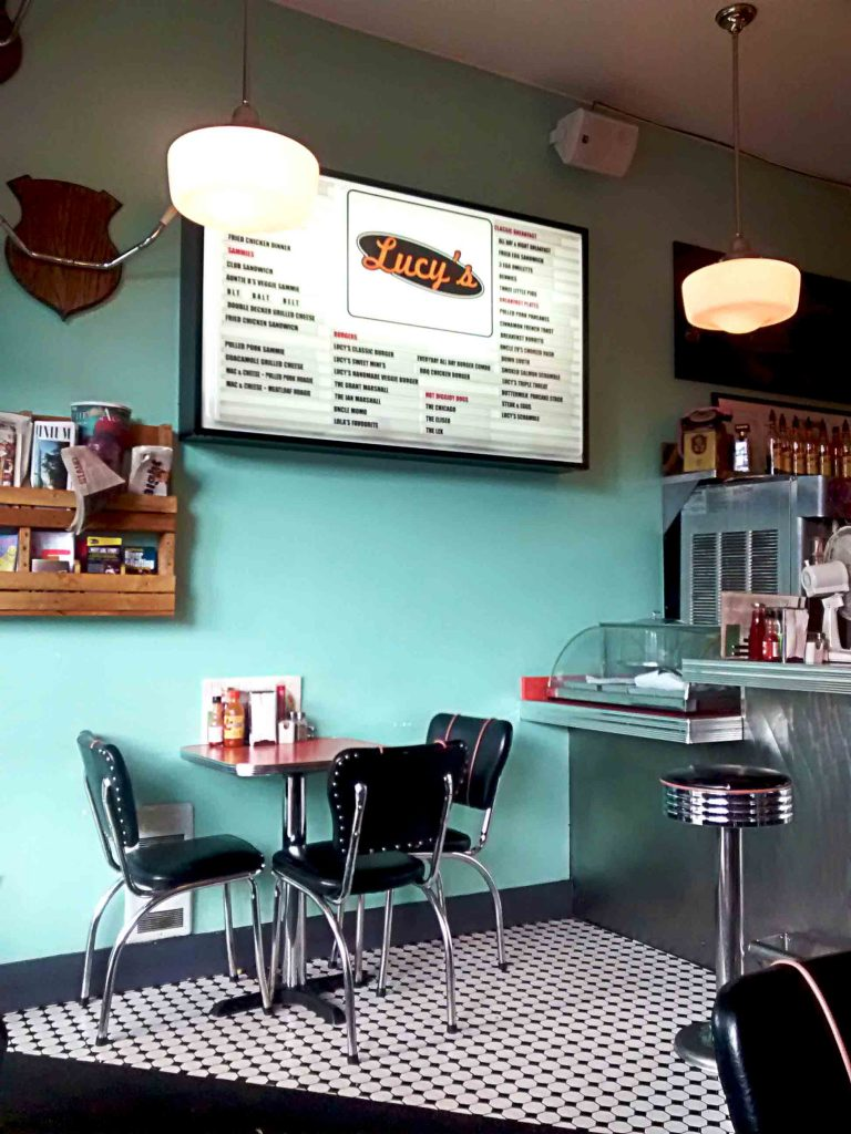 Lucy's Eastside Diner - Sandwich - Vancouver