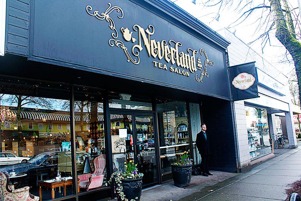 Neverland Tea Salon - Vancouver High Tea