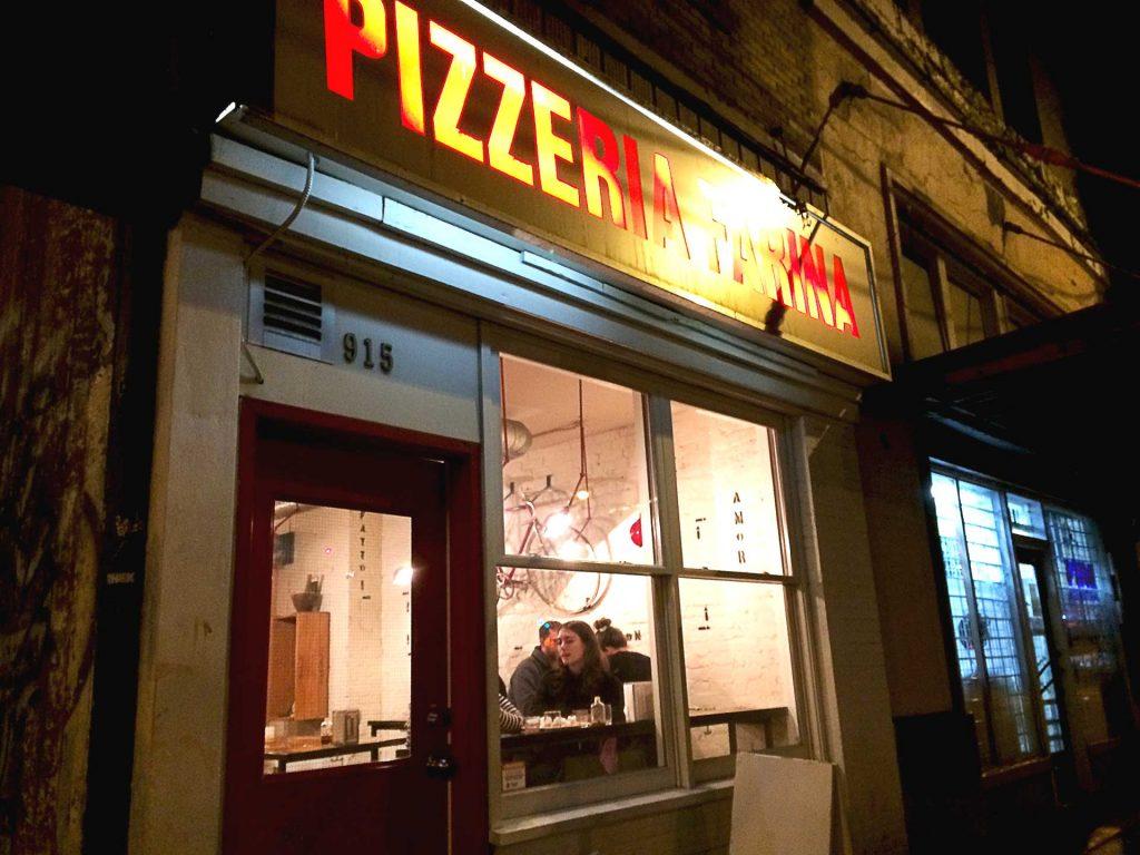 Pizzeria Farina - Pizza Joint - Vancouver