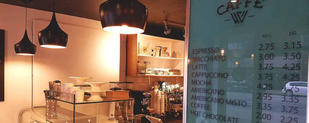Caffe W - Coffee Shop - Vancouver
