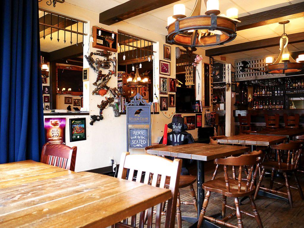Storm Crow Tavern - Geeky Bar Restaurant - Vancouver