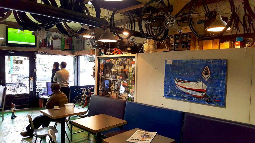Tandem Bike Cafe - Bike Friendly Coffee Shop - Vancouver