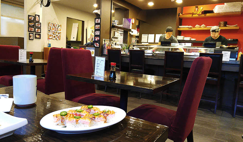 Victoria Sushi at New Westminster