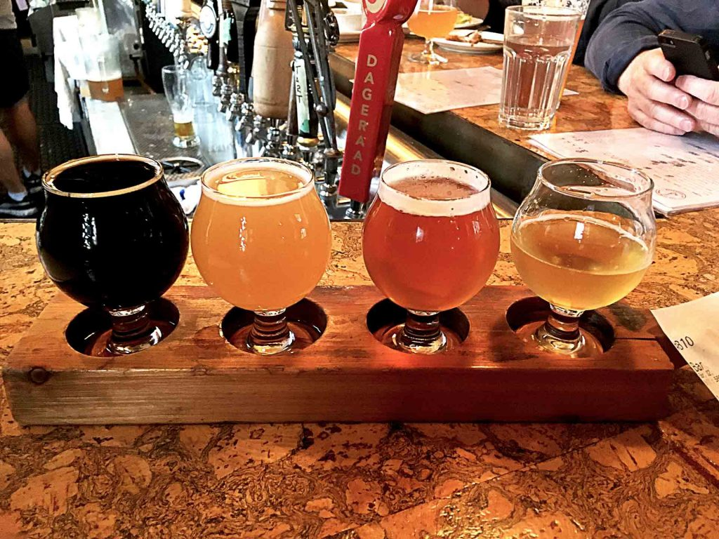 Craft Beer Flight at Alibi Room | tryhiddengems.com