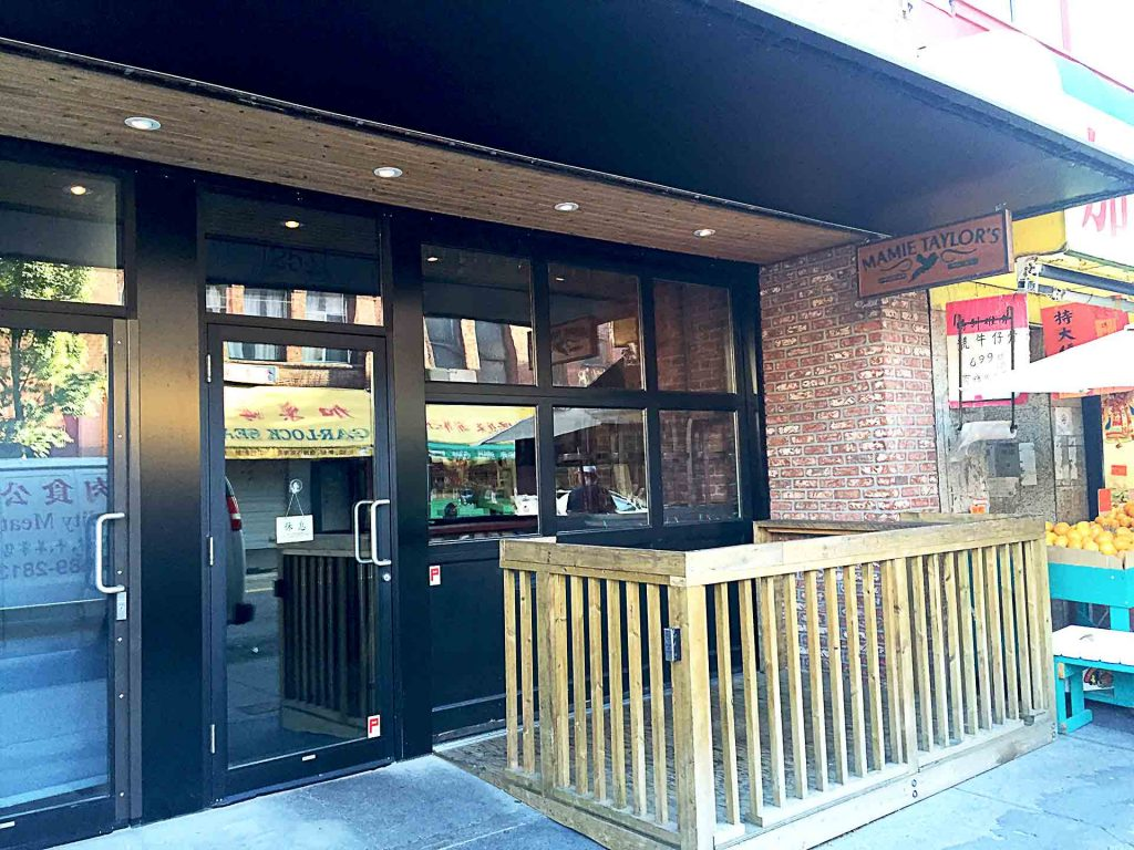 Mamie Taylor's American Comfort Food Restaurant in Chinatown, Vancouver