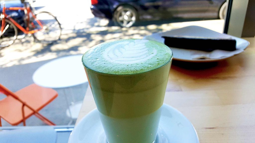 Matcha Latte at Kahve | Hidden Gems Vancouver