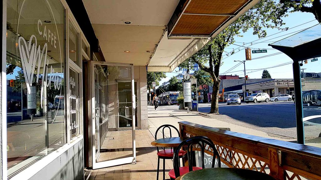 Caffe Mira - Italian Coffee Shop - Mount Pleasant - Vancouver