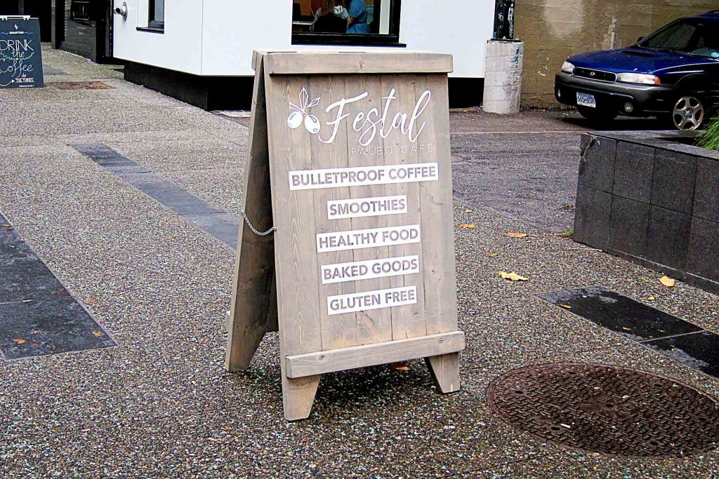 Festal Paleo Cafe - Paleo Diet Restaurant - Downtown - Vancouver