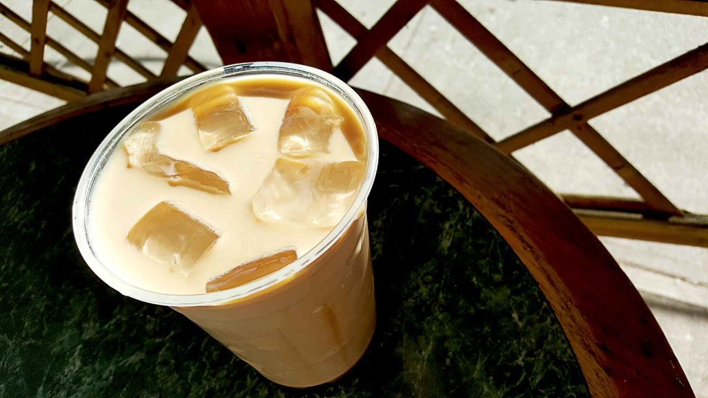 Iced Caramel Macchiato at Caffe Mira | tryhiddengems.com