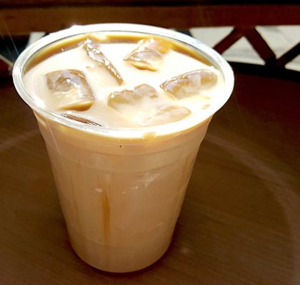 Iced Caramel Machiatto at Caffe Mira | tryhiddengems.com