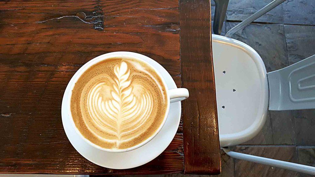 Latte at Cafe Crema   tryhiddengems.com