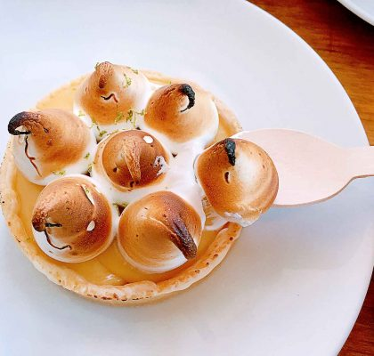 Lemon Meringue Tart at Blacksmith Bakery | tryhiddengems.com