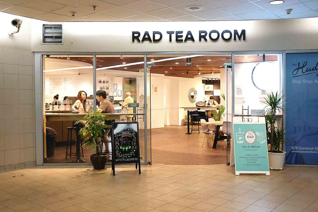 RAD Tea Room - Bubble Tea Shop - Downtown - Vancouver