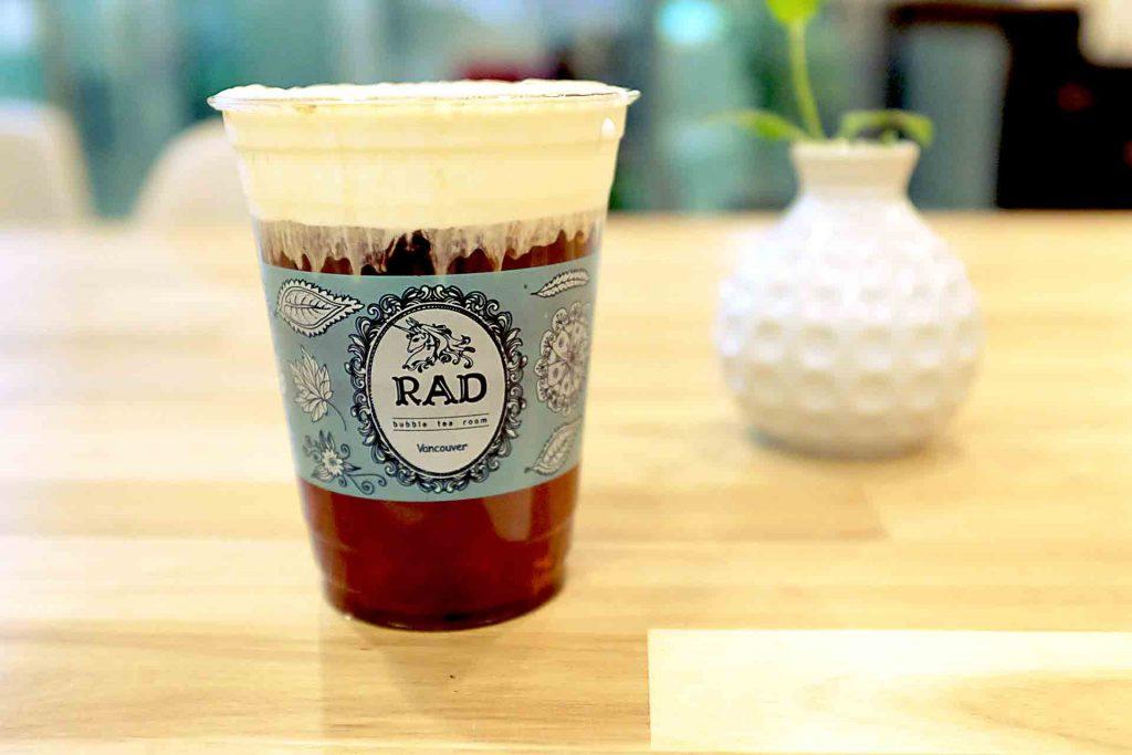 Winter Melon Milk Tea Cap at RAD Tea Room | tryhiddengems.com