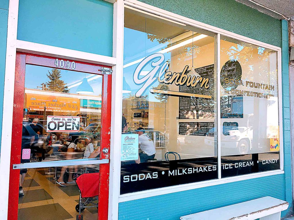 Glenburn Soda Fountain and Confectionery - Dessert Shop - Burnaby - Vancouver