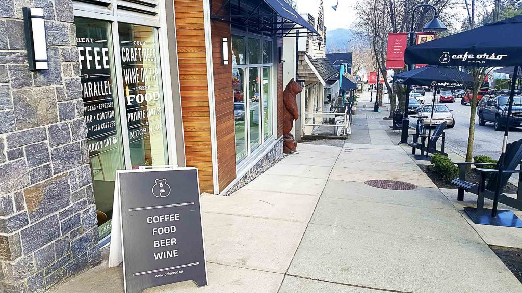 Cafe Orso - Vancouver Local Coffee Shop - Deep Cove North Vancouver - Vancouver