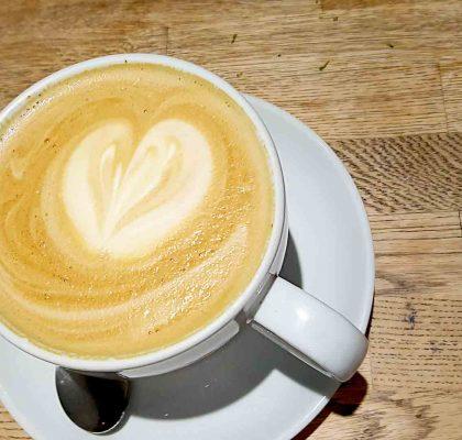 Hazelnut Latte at Aperture Coffee Bar | tryhiddengems.com