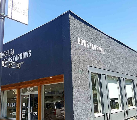 Bows and Arrows - Vancouver Local Coffee Shop - Fraserhood - Vancouver