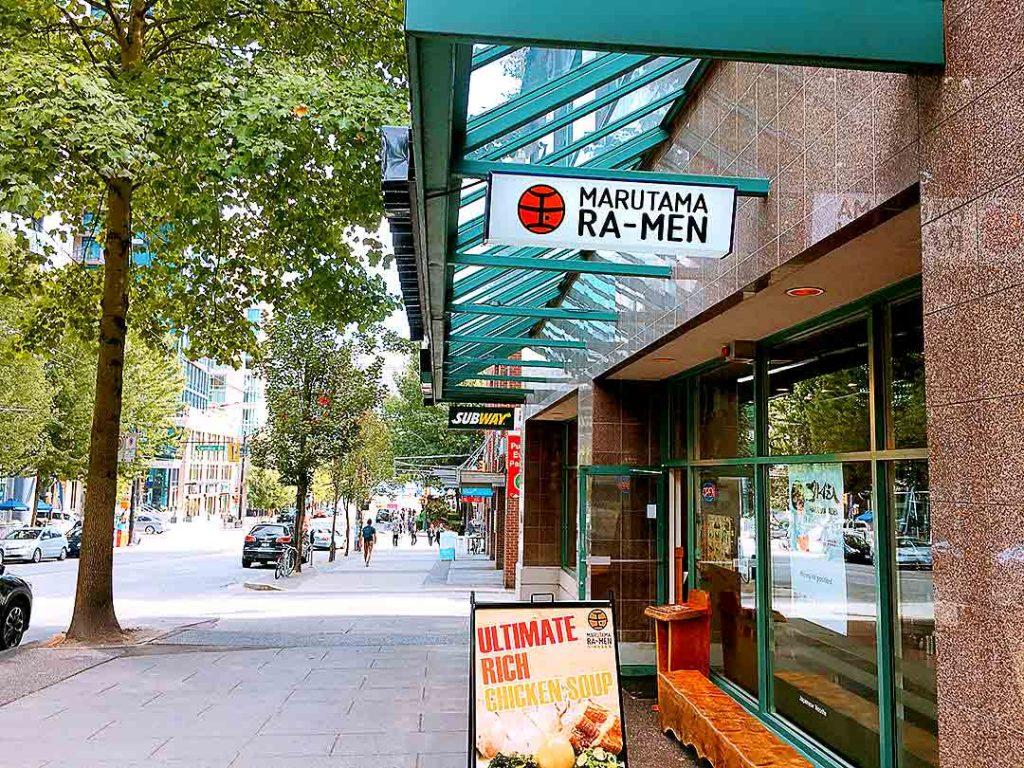 Marutama Ra-men - Japanese Ramen House - Downtown Vancouver - Vancouver