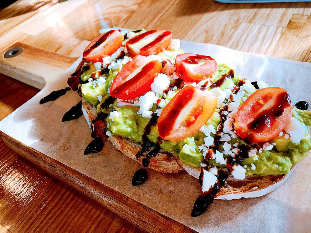 Mediterranean Toast at Black Tiger Coffee | tryhiddengems.com