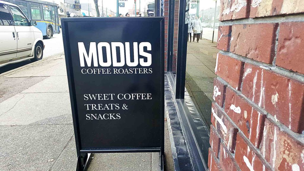 Modus Coffee Roasting Company - Vancouver Local Coffee Shop - Mount Pleasant - Vancouver