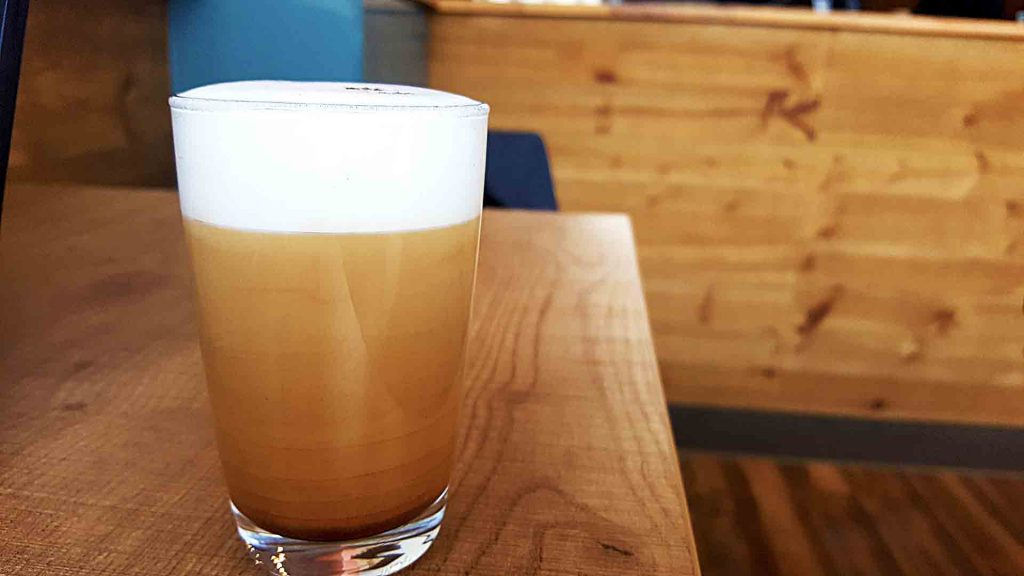 Cappuccino with Magic at Modus Coffee Roasting Company | tryhiddengems.com