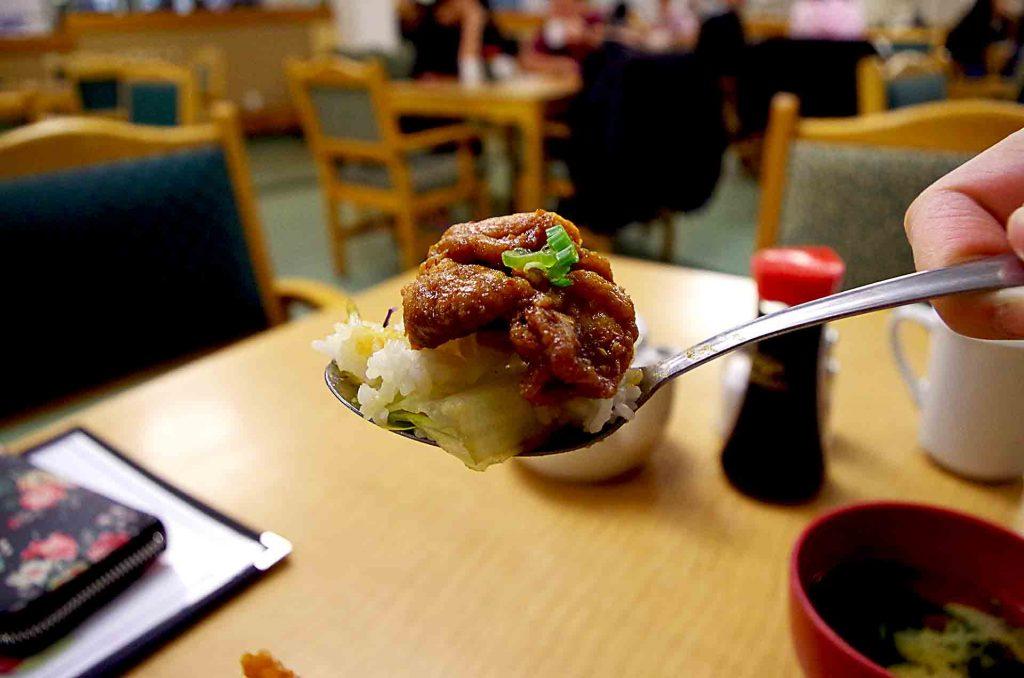 Spicy Karaage Donburi at Hi Genki Restaurant | tryhiddengems.com