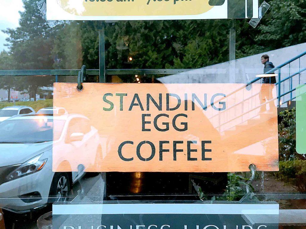 Standing Egg Coffee - Korean Coffee Shop - Burnaby North Road - Vancouver