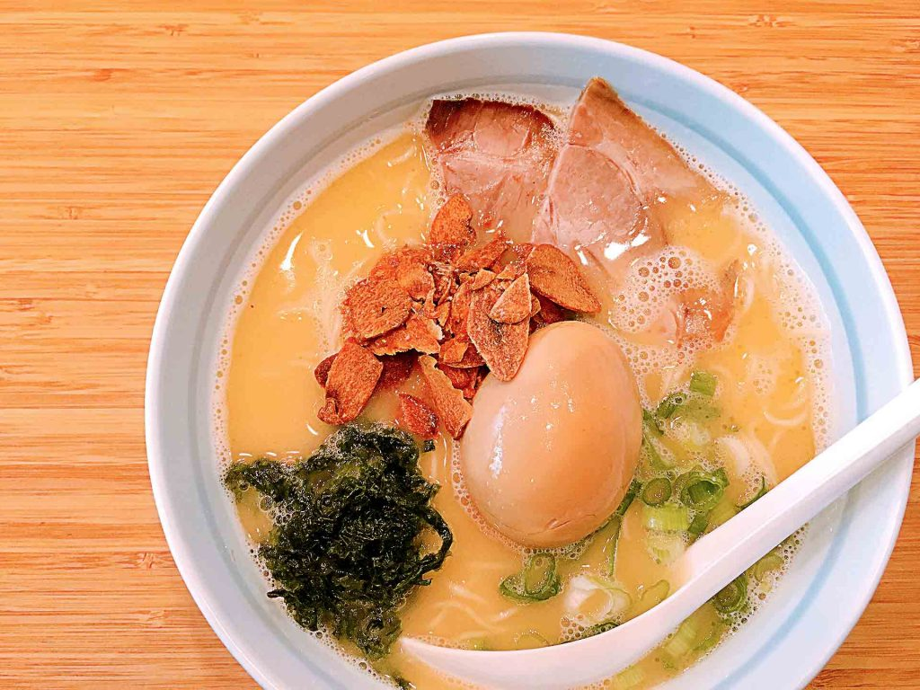 Tamago Ramen at Marutama Ra-men | tryhiddengems.com
