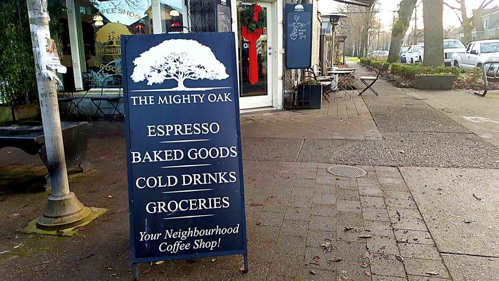 The Might Oak - Vancouver Local Coffee Shop - Riley Park - Vancouver