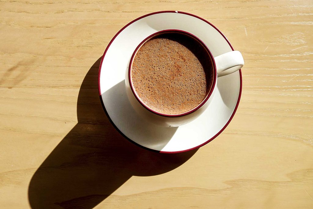 Dark Hot Chocolate at Choco Coo Cafe   tryhiddengems.com