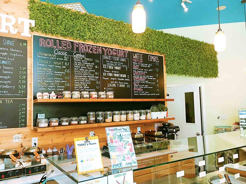 ON YOGURT- Asian Fusion Dessert Parlour - Yaletown - Vancouver