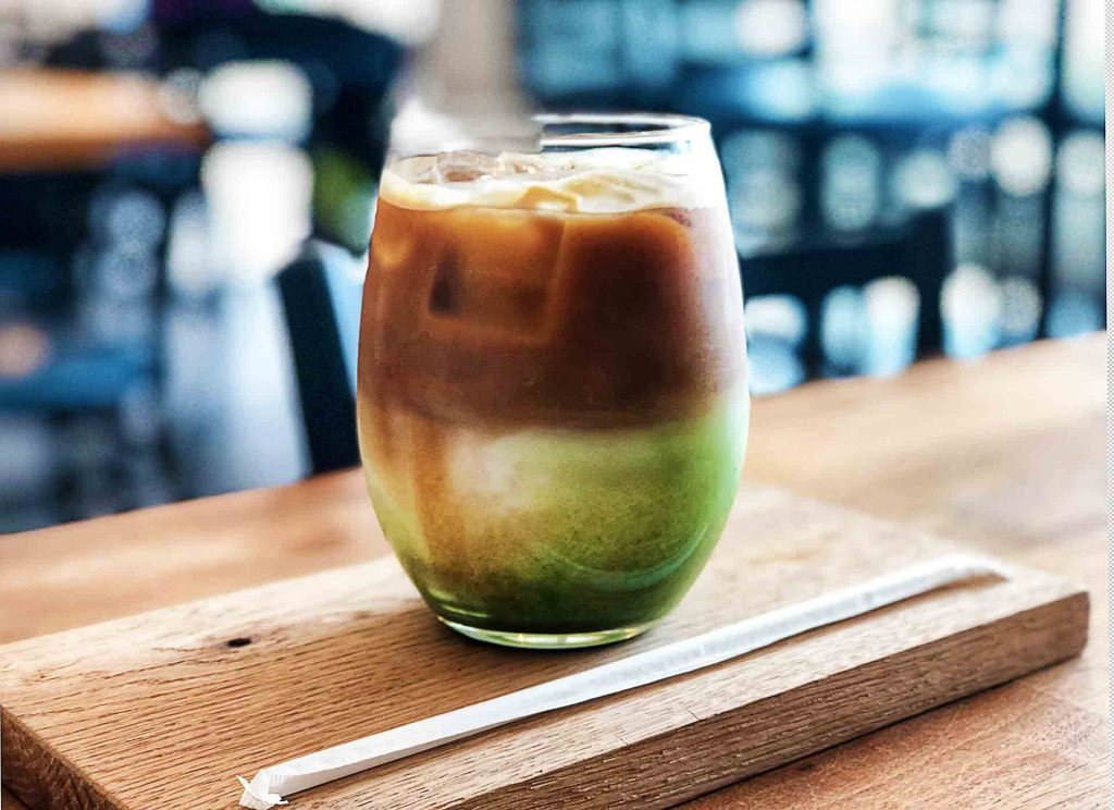 Kings Twisted Matcha at King's Cafe | tryhiddengems.com