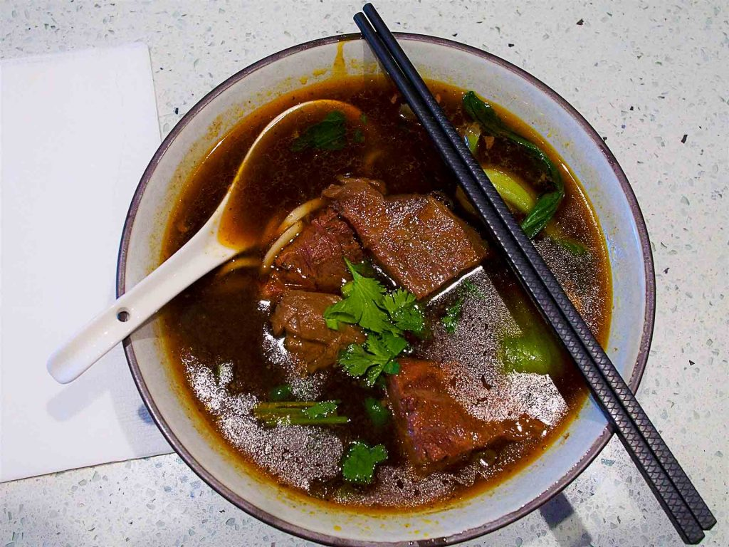 Spicy Beef Noodles at RedBeef noodle Kitchen | tryhiddengems.com