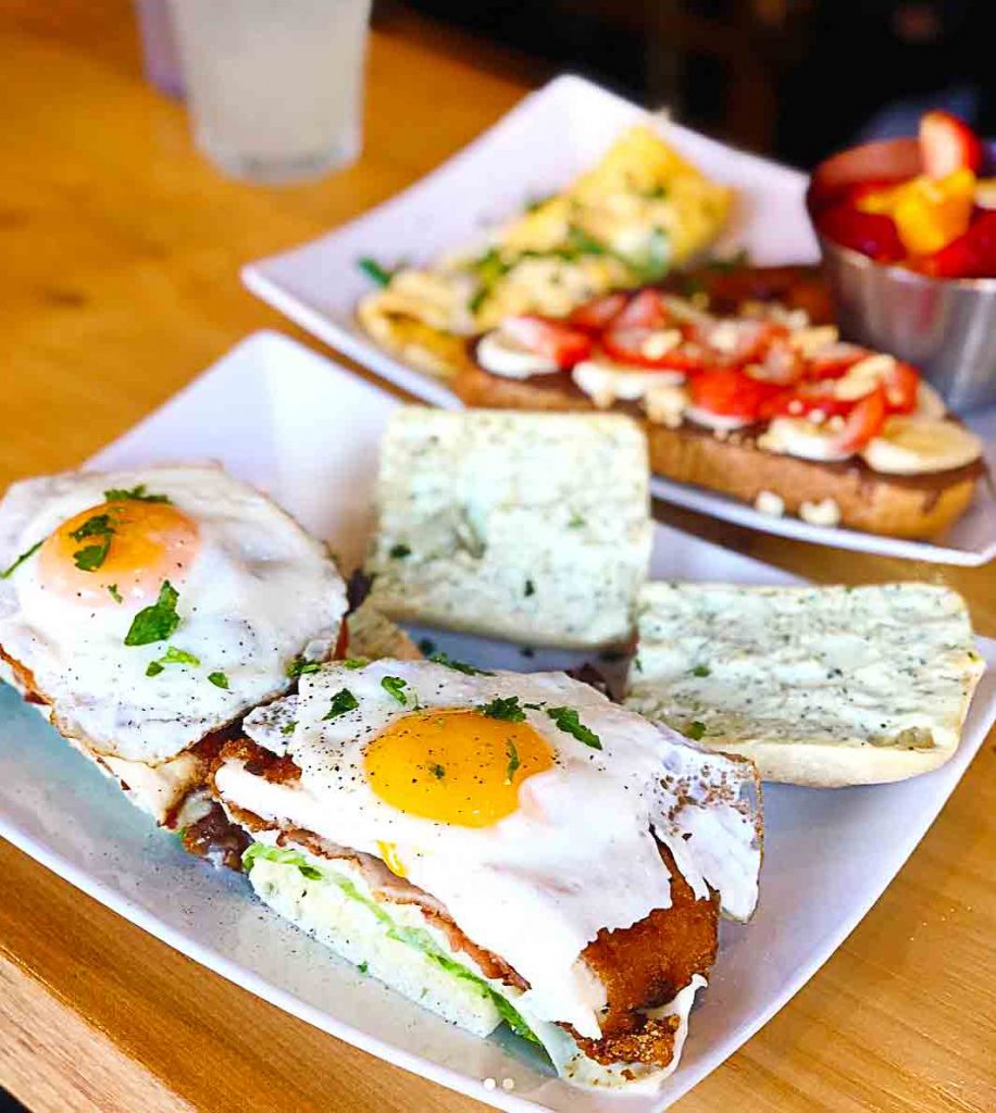Probably the Best Brunch Sandwich Ever at Bruncheria Cafe | Hidden Gems Vancouver