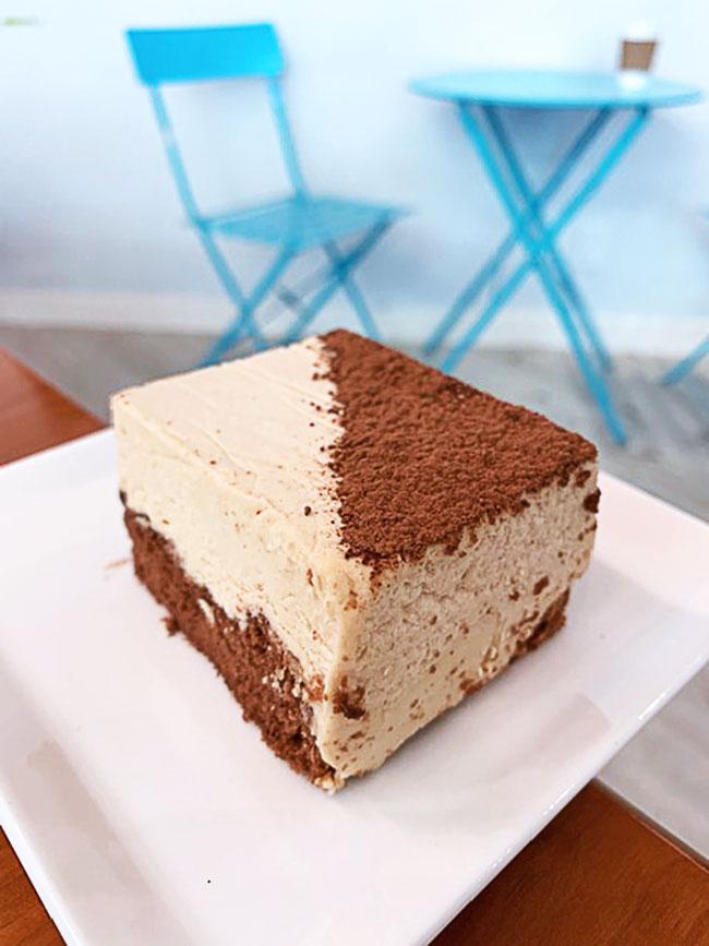Earl Grey Tea Mousse Cake | Fresh Press Coffee Bar | Richmond